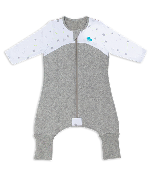 LOVE TO DREAM SLEEP SUIT™ 2.5 TOG White Stars