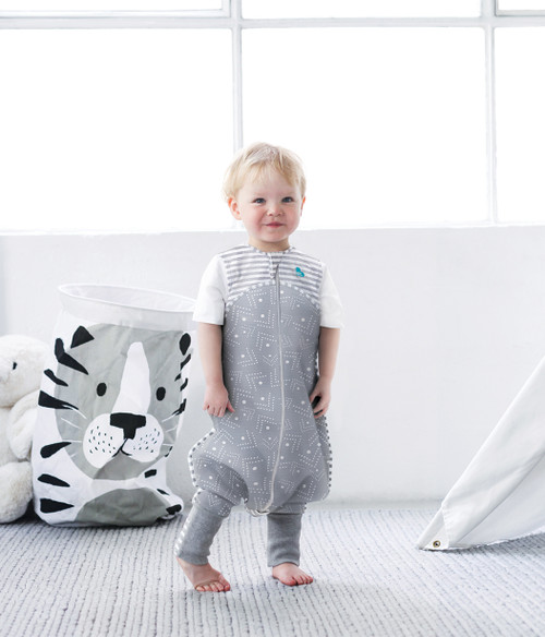 LOVE TO DREAM SLEEP SUIT™ 0.2 TOG Gray Dots