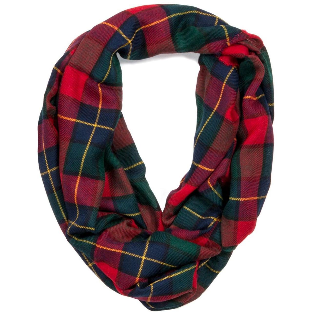 945ae53cde782 Kilgour Modern Tartan Fine Wool Infinity Scarve - Burnett's & Struth  Scottish Regalia