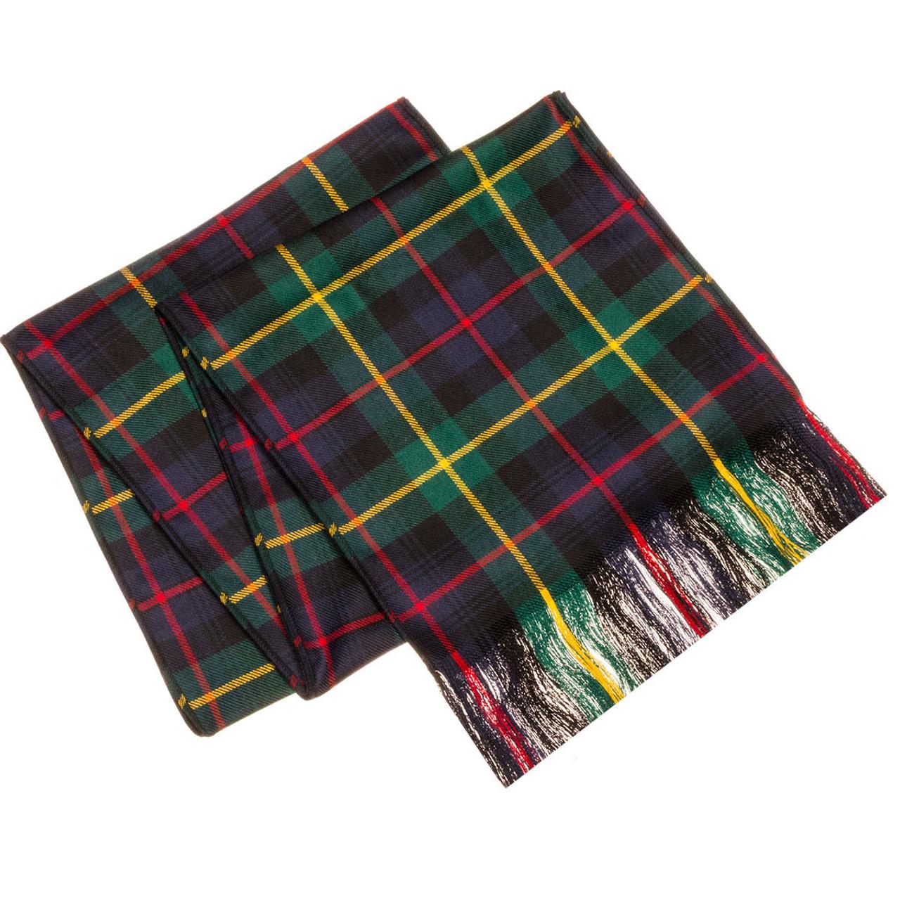 Scottish 100 /% Wool Tartan Clan Scarf MacGillivray Anc