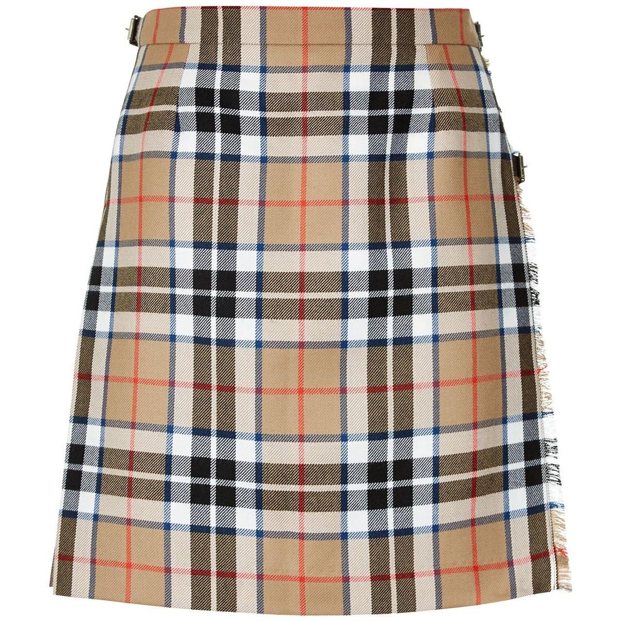 Mini Kilted Skirt