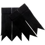 Black Plain Colour Flashes