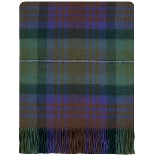 Isle of Skye Tartan Lambswool Blanket