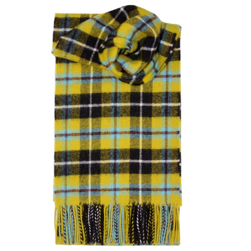 Cornish National Tartan Lambswool Scarf