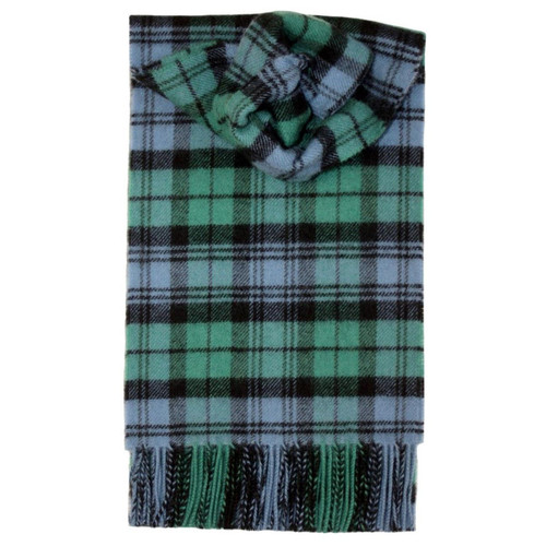 Campbell Ancient Tartan Lambswool Scarf