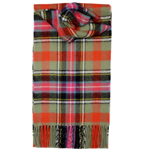 Bruce of Kinnaird Ancient Tartan Lambswool Scarf
