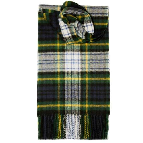 Gordon Dress Modern Tartan Lambswool Scarf