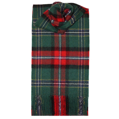 National Tartan Lambswool Scarf