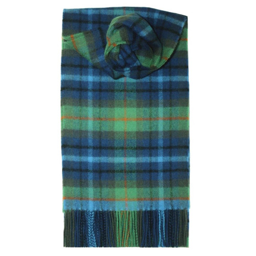 New York City Tartan Lambswool Scarf