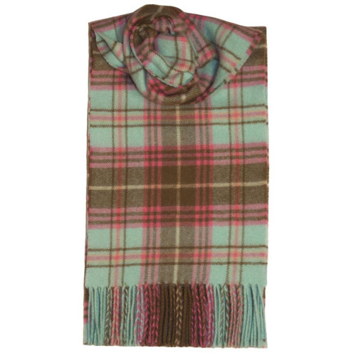 Roslin Plaid Heritage Check Lambswool Scarf