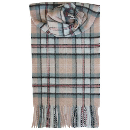 Diana, Princess of Wales Memorial Rose Tartan Cashmere Scarf