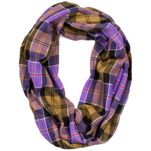 Culloden Ancient Tartan Fine Wool Infinity Scarve