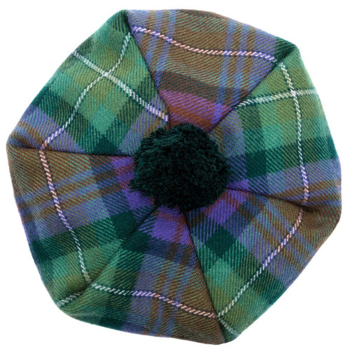 Isle of Skye Tartan Brushed Wool Tam