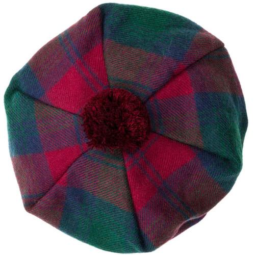 Lindsay Modern Tartan Brushed Wool Tam