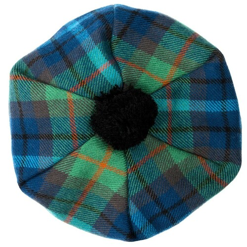 New York City Tartan Brushed Wool Tam