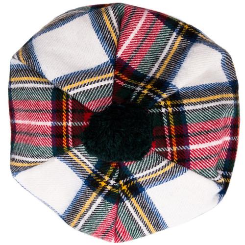 Stewart Dress Modern Tartan Brushed Wool Tam