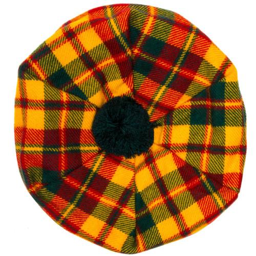 Strathearn Modern Tartan Brushed Wool Tam