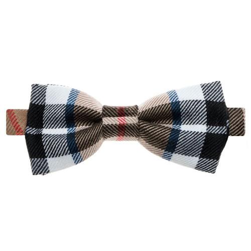Thomson Camel Modern Tartan Bow Tie
