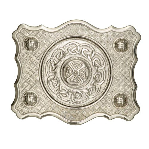 Buckle with Celtic Centre
