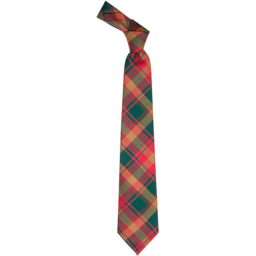 Maple Leaf Canadian Tartan Tie