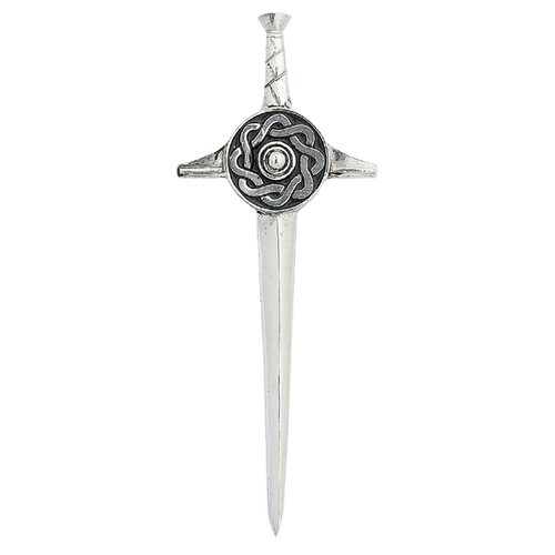 Celtic Swirl Kilt Pin