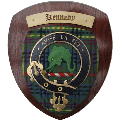 Clan Crest Plaque Large 10x12