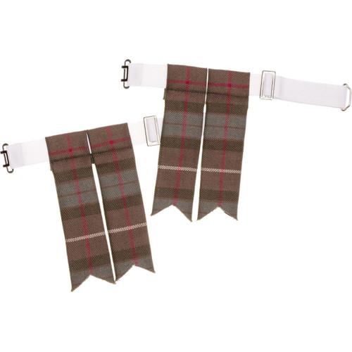 Made to Order Reiver Lightweight Tartan Flashes
