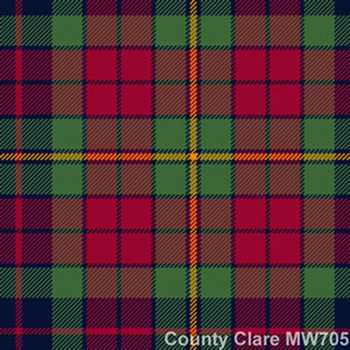 Find Your Tartan - Medium Weight 13 oz per metre - Irish