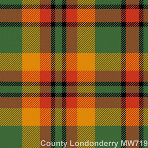 County Londonderry - 13oz Single Width