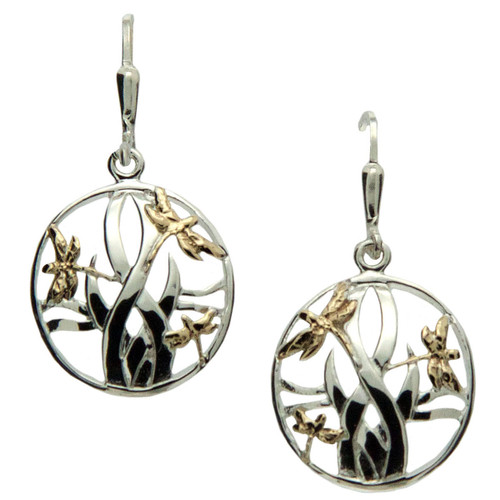 Keith Jack Dragon Fly Earrings
