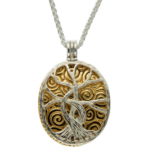 Keith Jack Tree of of Life Necklace