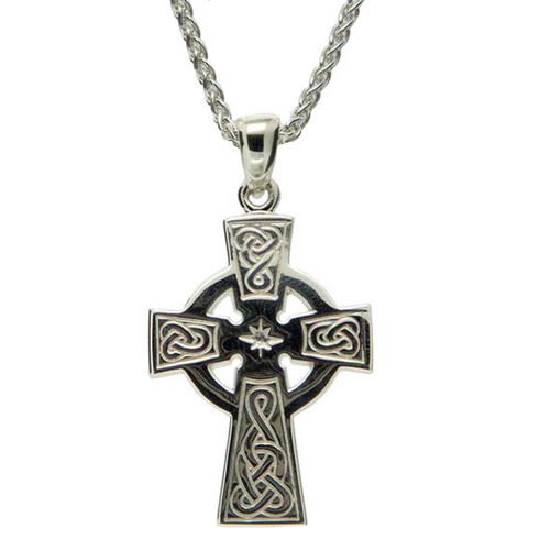 Keith Jack Celtic Cross Necklace