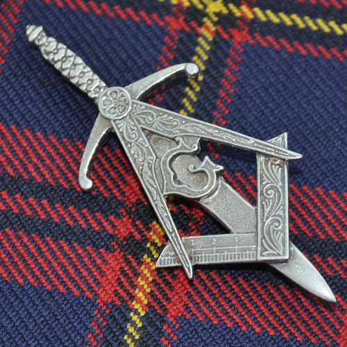 Masonic Kilt Pin With large logo