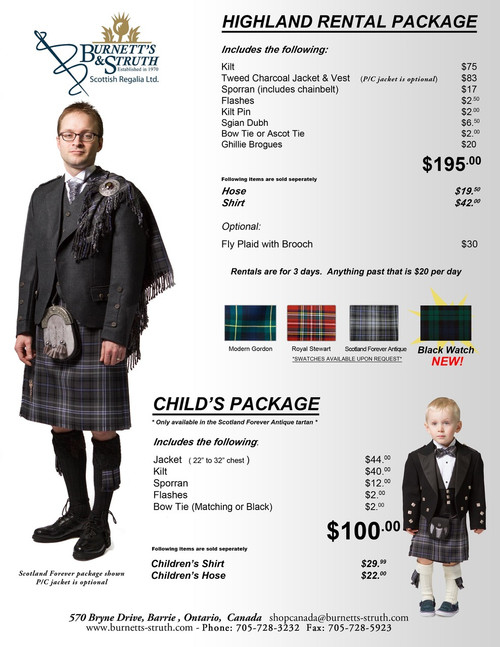 Scotland Forever  Package