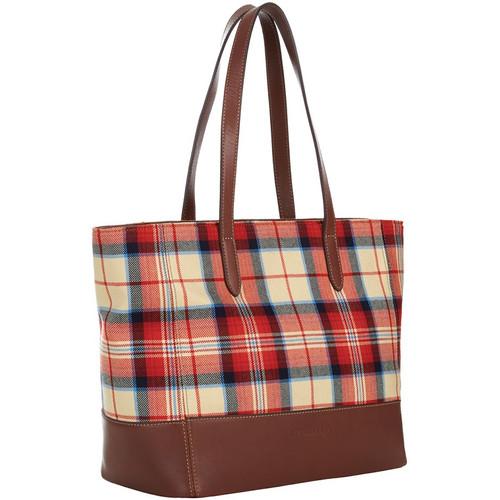 Antonia Tote Bag Westleas Check