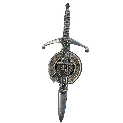 48th Highlanders Regimental kilt pIn