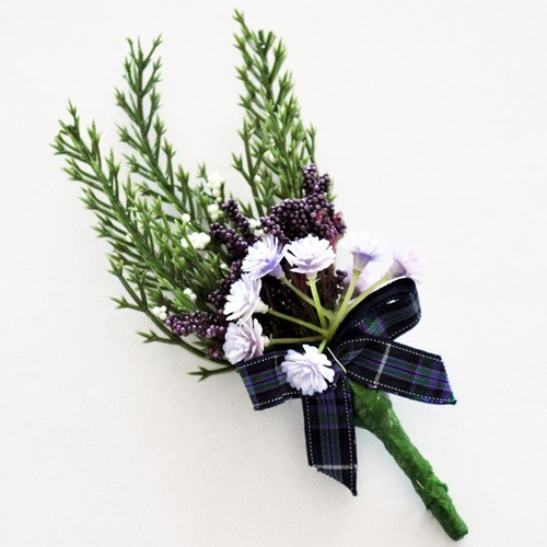 Heather Boutonniere