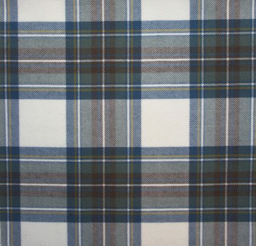 STEWART BLUE DRESS LIGHT WEIGHT TARTAN FABRIC