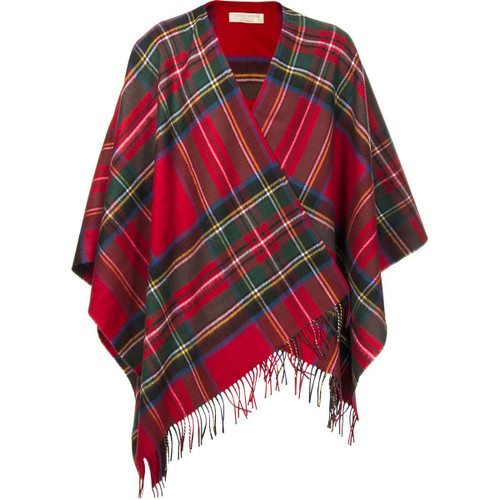 This is a high quality serape, made from our 100% lambswool blankets. These serapes should be worn over the shoulder like a cape. They are very soft and cosy, perfect for a cooler evening. Could wear with casual or formal dress. Please note that these are specially made to order for you and it may take 10-14 days to be despatched. Serape Dimensions: 180cm x 142cm with fringed ends. Dry clean only.