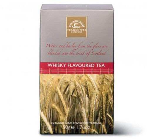 Edinburgh Whisky Flavored Tea Bags Large