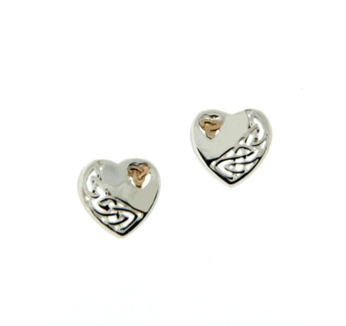 Keith Jack Heart Earrings