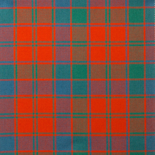 Robertson Red Ancient Light Weight Tartan Fabric