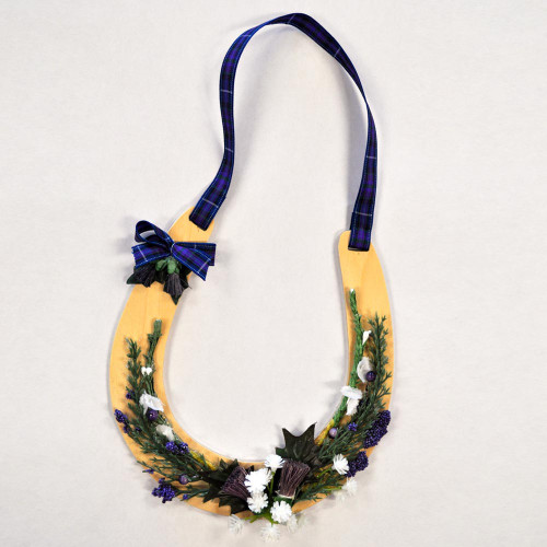 Wooden Wedding Horseshoe