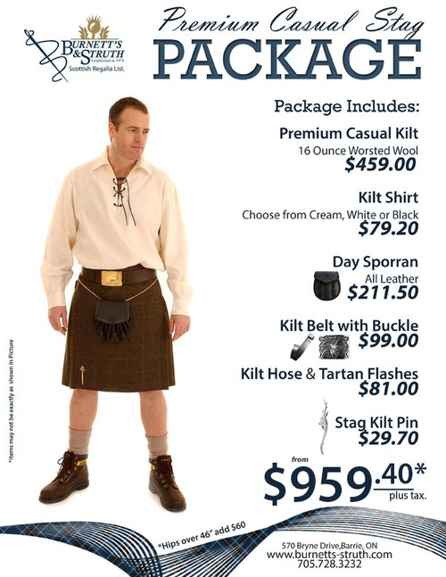 Premium Casual Stag Package