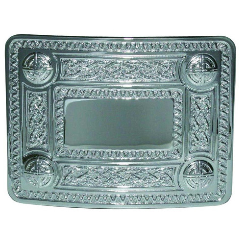 4 Dome Celtic Knot Belt Buckle