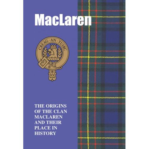 MacLaren Clan History Book