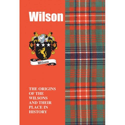 Wilson Clan History Book