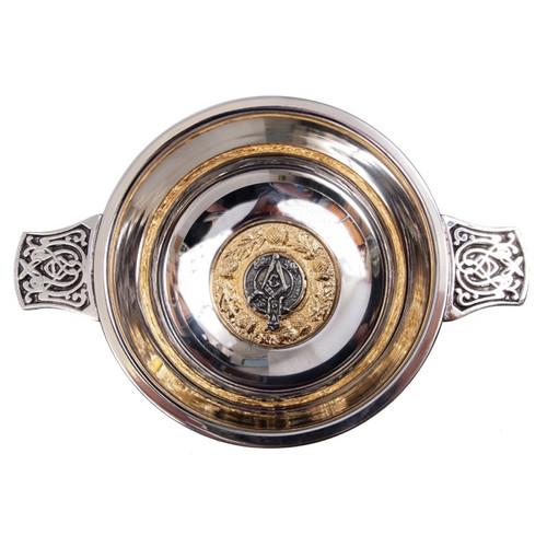 "Quaich 4"" Masonic Crest"