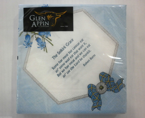 The Selkirk Grace Paper Napkins