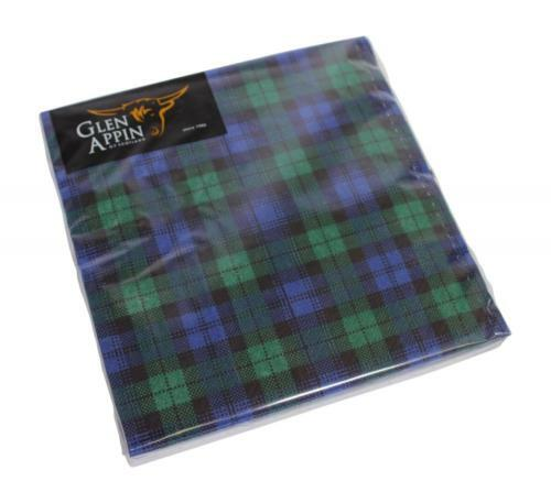 Black Watch Paper Napkins